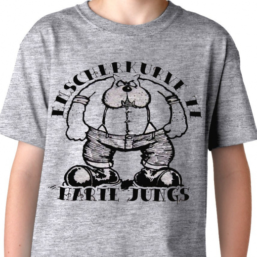 Emscherkurve 77 - Harte Jungs T-Shirt (grey)