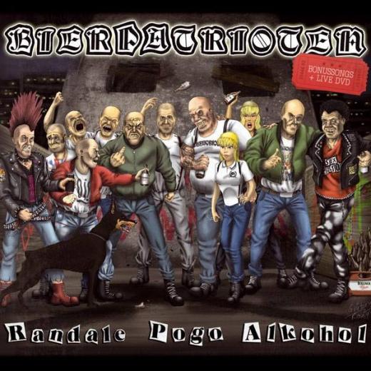 Bierpatrioten - Randale, Pogo, Alkohol  (CD+DVD) lim. Collectors Edition DigiPac