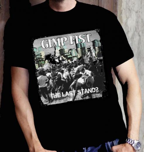 Gimp Fist - the last Stand Cover - T-shirt (Black) l