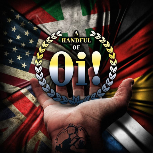 A handful of Oi! (LP) Aggressive, Warrior Kids, BootnAll... 250 black Vinyl