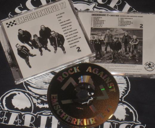 Emscherkurve 77 - Demos & Outtakes (CD) limited 500 copies