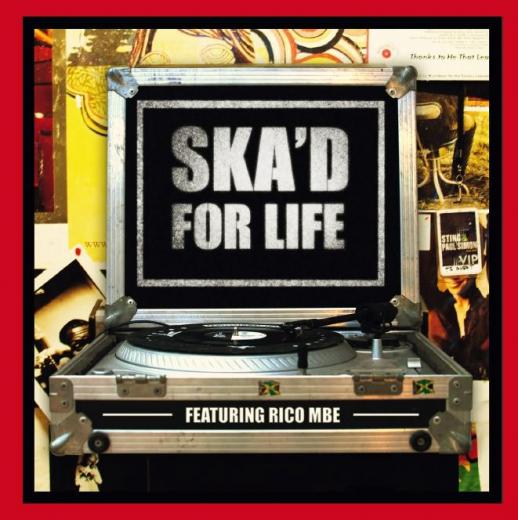 Ska´d for life - Strictly Rockers presents (LP) lim. 200 white Vinyl