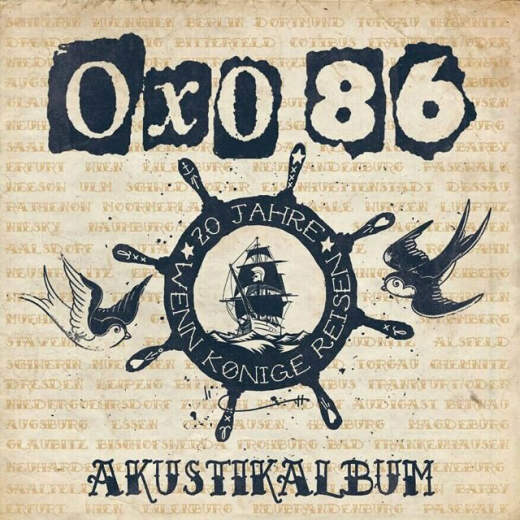 OXO 86 - Akustikalbum (CD) limited Digipac