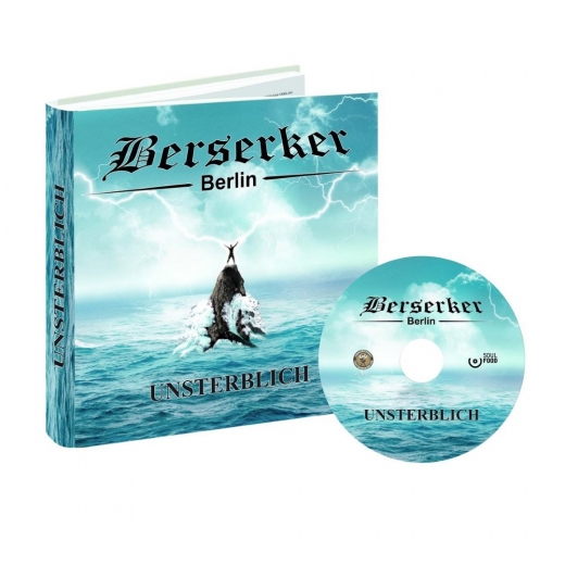 Berserker - Unsterblich (CD) Collectors Hardcover- Buch, CD, Traumfänger