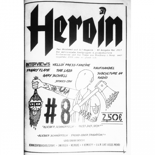 Heroin #8 (fanzine) german
