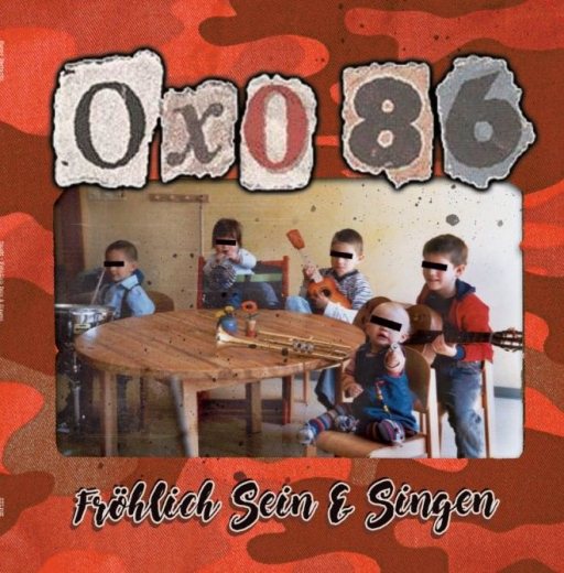 Oxo 86 - Fröhlich sein und singen (LP) smokey red Vinyl 250 copies