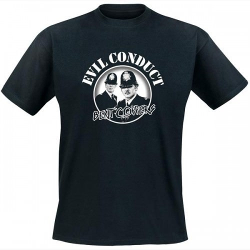 Evil Conduct - Band Coppers T-Shirt (black)