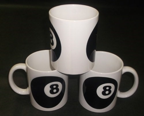 Eight Ball - Tasse (Kaffee Pott)