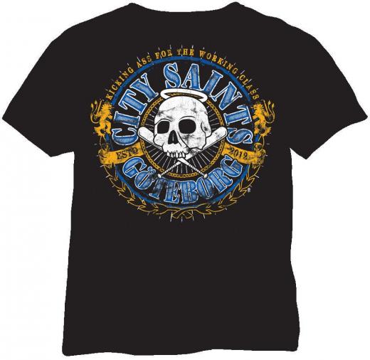 City Saints - Logo Tshirt (black)