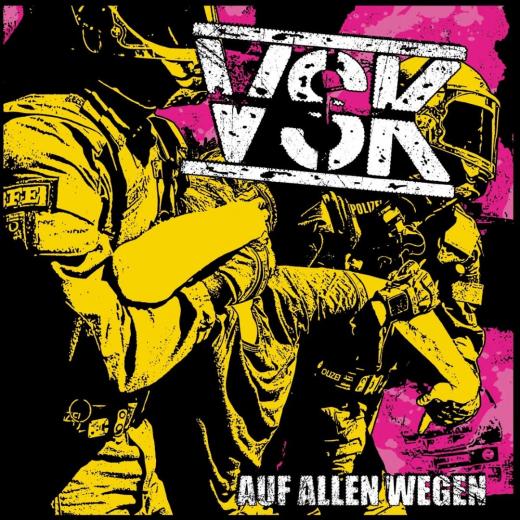 VSK - Auf allen Wegen (LP)  Vinyl + MP3 - Versaute Stiefkinder