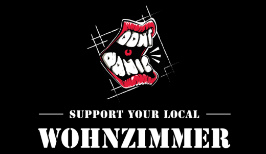 Dont Panic - Support your local Wohnzimmer (Gutschein) * Dont Panic Club Soli-Aktion