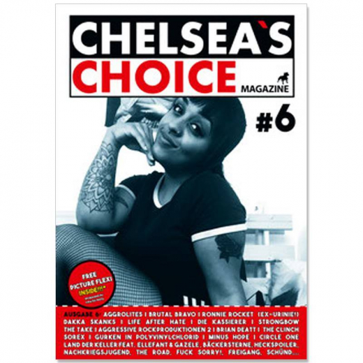 Chelsea's Choice No. 6, (Fanzine) A4 + FLEXI 7inch Single