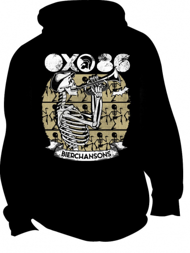 Oxo 86 - Bierchansons Jacke (black) beige Print