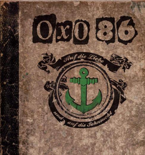 OXO86 - Auf die Liebe und auf die Sehnsucht (2LP) Deluxe Gatefolder Edition Printed-LP green/ brown Vinyl