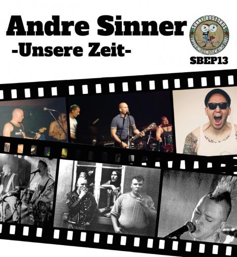 Andre Sinner / Der Butterwegge feat Silke o`Porters - Split (EP)  blaues Vinyl