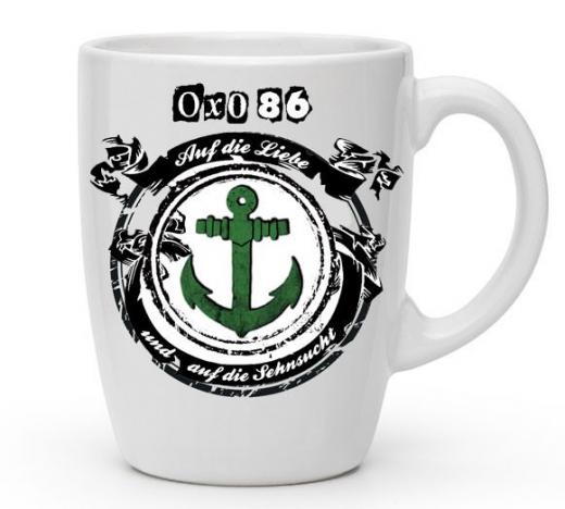OXO 86 Kaffee-Pot - Auf die Liebe... (Tasse mit Henkel) Keramik * Don´t Panic Soli Aktion