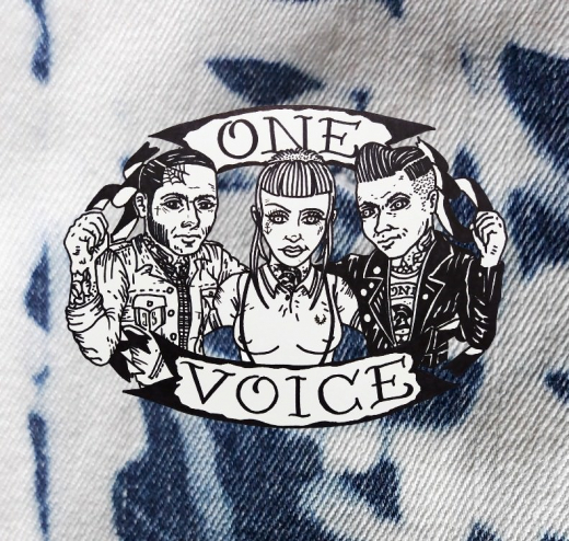 One Voice - Skinhead for a Day (EP) 7inch TESTPRESSUNG