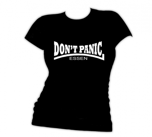 Dont Panic Essen - Girlie (Black) limited Shirt
