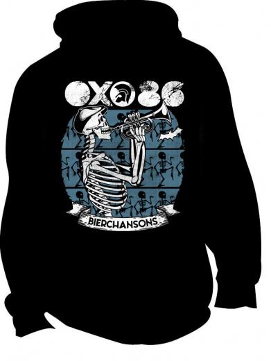 Oxo 86 - Bierchansons Jacke (black) blue Print