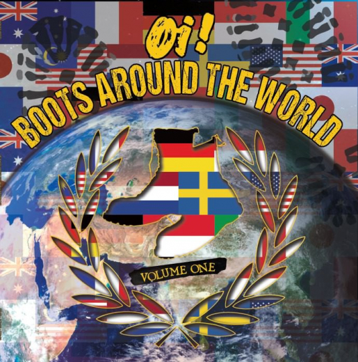 V/a OI! BOOTS AROUND THE WORLD VOL.1 (LP+CD) black Vinyl 100 copies