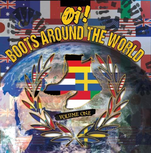 V/a OI! BOOTS AROUND THE WORLD VOL.1 (LP) TESTPRESSUNG