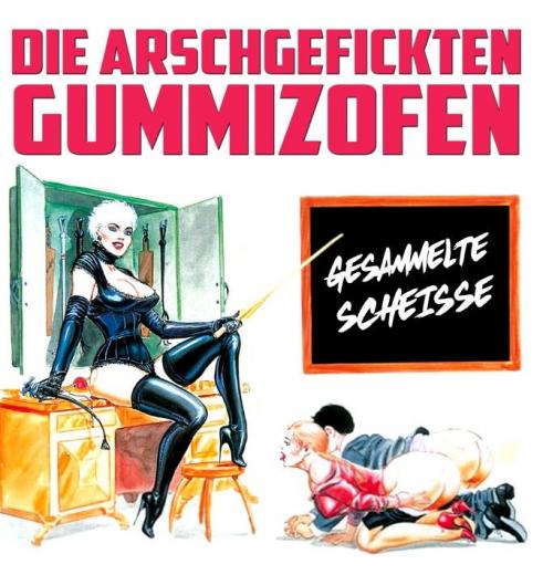 Gummizofen - Gesammelte Scheisse (LP) sperm-white Vinyl 150 copies