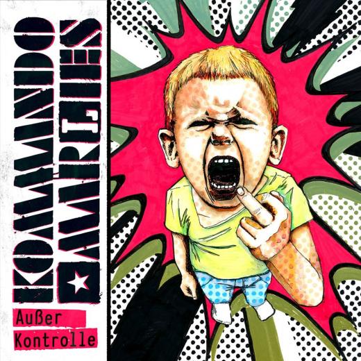 Kommando Marlies - Außer Kontrolle (LP) 10inch black Vinyl 200 copies