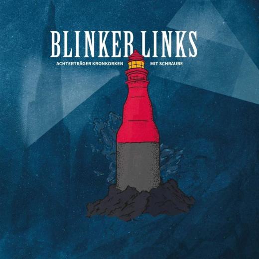 Blinker Links - Achterträger Kronkorken mit Schraube (LP) yellow Vinyl+MP3