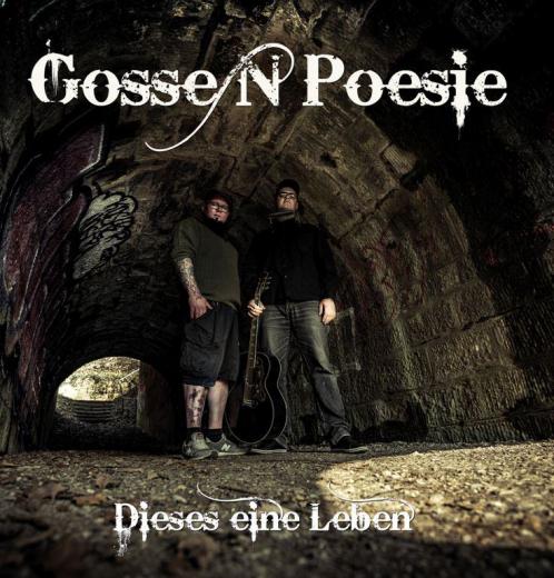 Gossenpoesie - Dieses eine Leben (LP) ltd floating colored Vinyl 100 copies+MP3