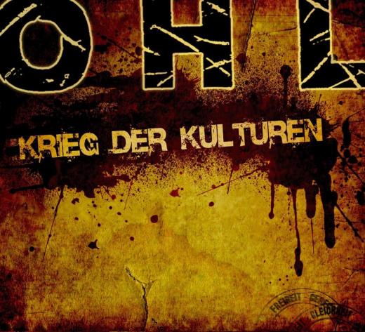 OHL - Krieg der Kulturen (LP) EINZELSTÜCK limited 500 colored Vinyl