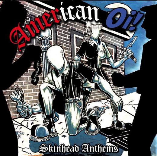 American Oi! - Skinhead Anthems (LP) clear/gold Vinyl Patriot, Hardsell, Mob Mentality, Doug & the Slugz