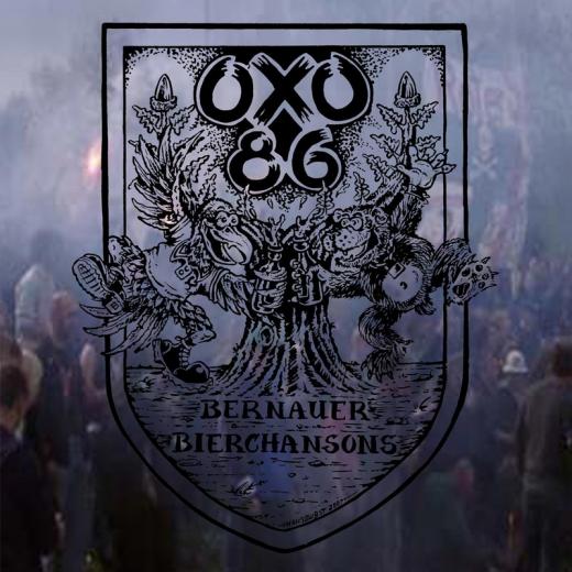 Oxo 86 - Bernauer Bierchansons (LP) pure Black Vinyl 100 copies
