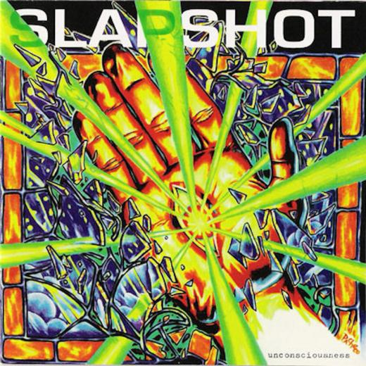 Slapshot - unconsciousness (LP) yellow Vinyl limited 300