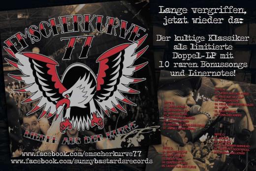 Emscherkurve 77 - Lieder aus der Kurve (2LP) limited Deluxe Edition black Vinyl