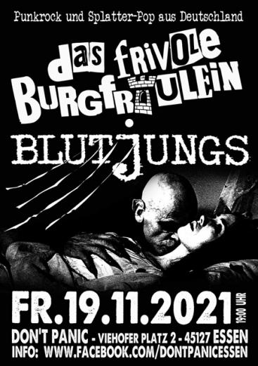 Blutjungs/ Das frivole Burgfräulein - Live! (Ticket) 19.11.2021 Dont Panic Essen