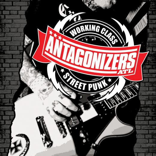 Antagonizers ATL - S/T (LP) smokey Bloodred Vinyl