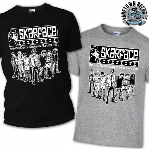 Skarface - Clockwork Ska since 1991 Tshirt (black)