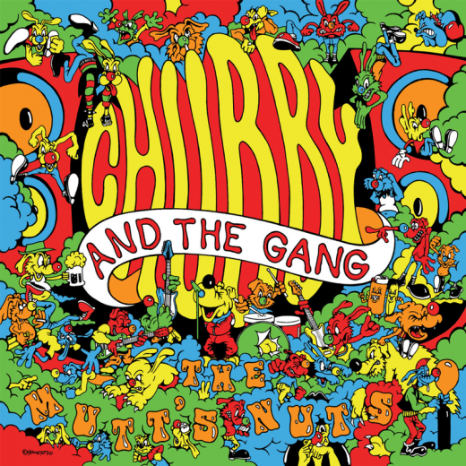 Chubby & The Gang - The Mutts Nuts (LP) lmtd orange Vinyl