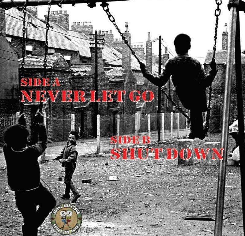 Gimp Fist - Never let go (EP) 7inch silver Vinyl l - Sunny Bastards Shop