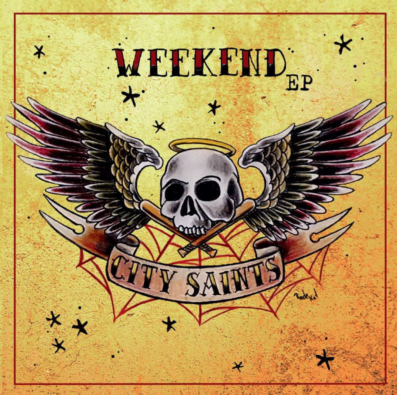City Saints Weekend Ep 7inch Single 150 Silv Sunny