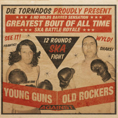 Tornados, die - Young Guns Against Old Rockers (CD) Digipac limited 1000