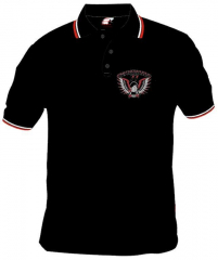 Emscherkurve 77 - Polo-Shirt (black)