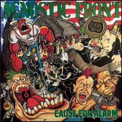 Agnostic Front - Cause For Alarm (LP) 180 gramm black Vinyl
