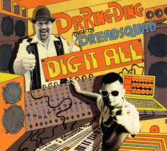 Dr. Ring Ding meets Dreadsquad - Dig it all (CD) Digipac