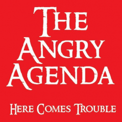 Angry Agenda, the - Here comes Trouble (LP) limited 75 black Vinyl
