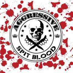 Aggressive - Spit Blood (LP) black Vinyl, limited 250