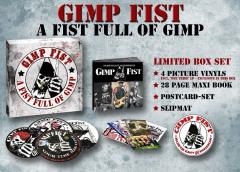Gimp Fist - a Fist Full of Gimp (Collectors Box) 4 Picture LP´s, Book, Slipmat, Cards
