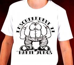 Emscherkurve 77 - Harte Jungs T-Shirt (white)