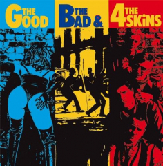 4 Skins - The Good, the bad & the 4 Skins (LP) limited RADIATION Vinyl