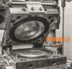 4 Promille - Vinyl (EP) 7inch etched Single  limited orange wax